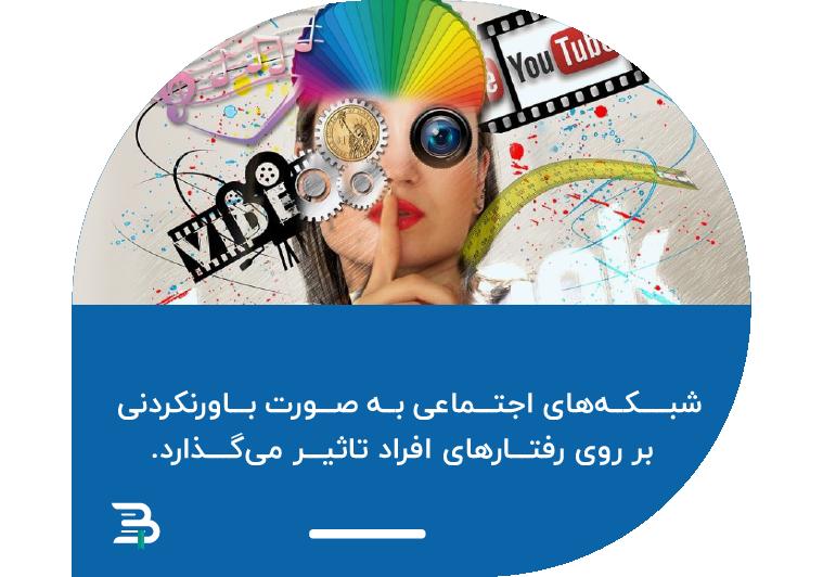شبکه های اجتماعی تاثیر روابط اجتماعی