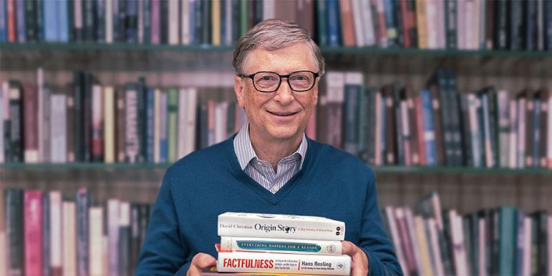 7 کتاب توصیه شده توسط بنیانگذار مایکروسافت، بیل گیتس